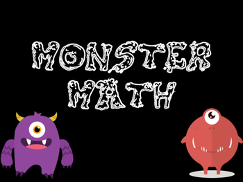 Monster Math Subtraction