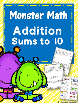 Monster Math Sums to 10