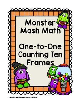 Monster Math Ten Frames