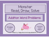 Monster Math Word Problems