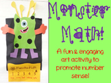 Monster Math - an Art Project with Number Sense!