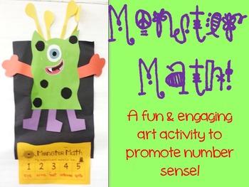 Monster Math - an Art Project with Number Sense!