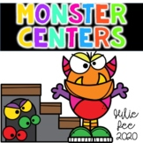 Monster Math and Literacy Centers