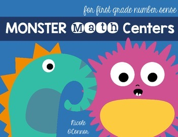Monster Math Centers for Number Sense