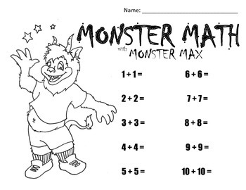 Monster Math with Monster Max