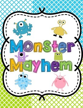 Monster Mayhem-Descriptive Writing