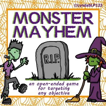 Monster Mayhem (open-ended card game)