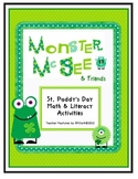 Monster McGee & Friends: St. Paddy's Day Math & Literacy Activities