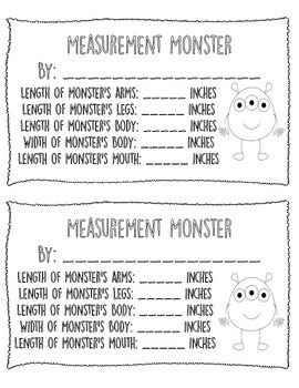 Monster Measurement