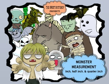 Monster Measurement (Quarter, Half, and Whole Inch)