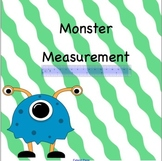 Monster Measurement: Smartboard Activity