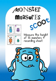 Monster Measures Scoot - measure the height of each monster