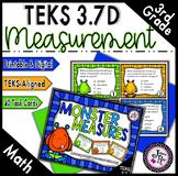 TEKS 3.7D / Monster Measures: Customary & Metric Measurements: