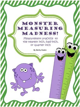 Monster Measuring Madness! Measuring Practice