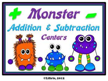 Monster Mega Pack - Reading, Writing, and Math