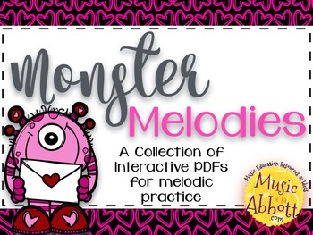Monster Melodies {A Bundled Set of Melodic Games}