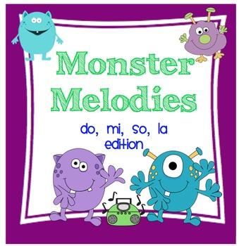 Monster Melodies: do, mi, so, la Edition