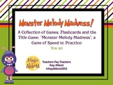 Monster Melody Madness: a collection of activities for tea