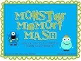 Monster Memory Mash