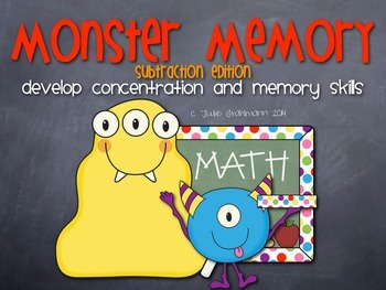 Monster Memory Subtraction Edition