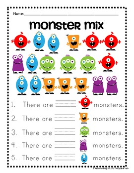 Monster Mix Counting