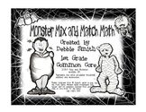 Monster Mix & Match Math Game  Add and Subtract within 20