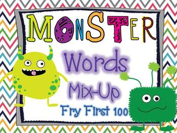 Monster Mix-Up: Fry First 100