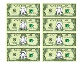 Monster Money: 1 Dollar Bills