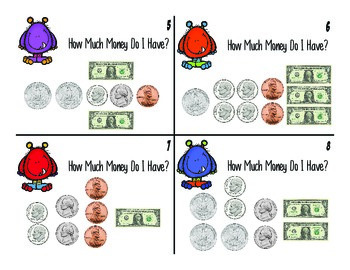 Monster Money Game - Learning To Count Money Game