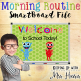 Monster Morning Routine SmartBoard File