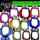 Monster Mouth Frames {Creative Clips Digital Clipart}