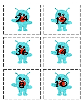 Monster Multiplication: 10 Workstation Activities