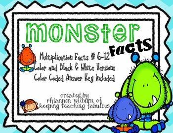 Monster Facts (6-12)