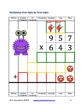 Monster Multiplication: A Multisensory & Mindful Approach to Long Multiplication