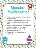 Monster Multiplication Arrays Center
