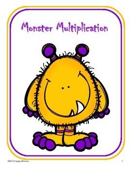 Monster Multiplication (Basic Facts)
