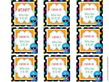 Monster Multiplication Centers and Games (QR Codes Included)