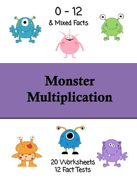 Monster Multiplication Facts