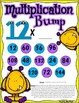 Monster Multiplication Facts Bump Game Pack