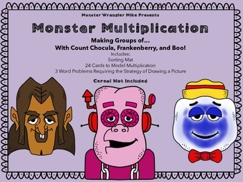 Monster Multiplication Freebie: Modeling Groups Of
