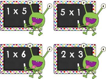 Monster Multiplication Match [a monster-ous game!]