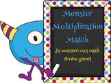 Monster Multiplication Match [a monster-ous review game!]