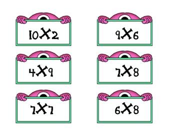 Monster Multiplication Math