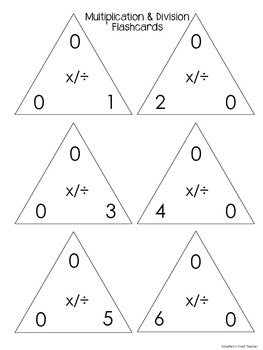 Master Multiplication Facts Pack