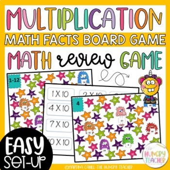 Multiplication Math Facts Game {4th and 5th Grade Common C