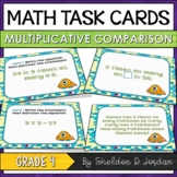 Multiplication Task Cards - Multiplicative Comparison (4th Grade)
