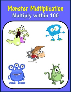 Monster Multiplication (Multiply within 100)