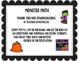 Monster Multiplication Review