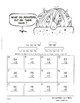 MONSTER MATH Multiplication Problems  Gr. 3-4 Color  NO PREP RIDDLES