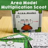 Multiplication Scoot - Area Model